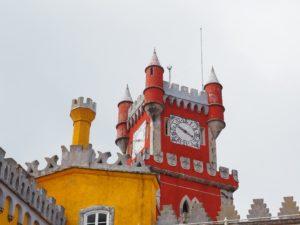Palais national de Pena à Sintra, non loin de Lisbonne au Portugal
