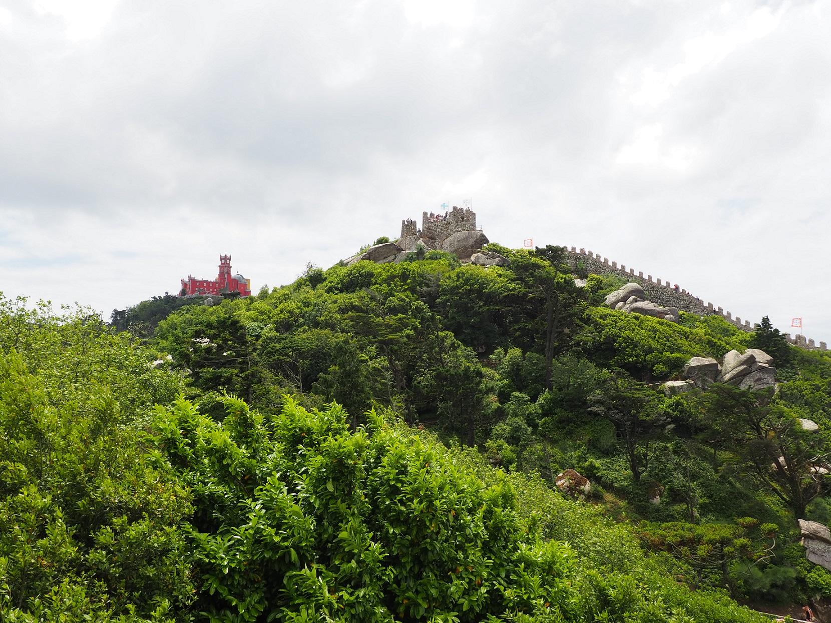 Palais national de Pena et château des Maures à Sintra