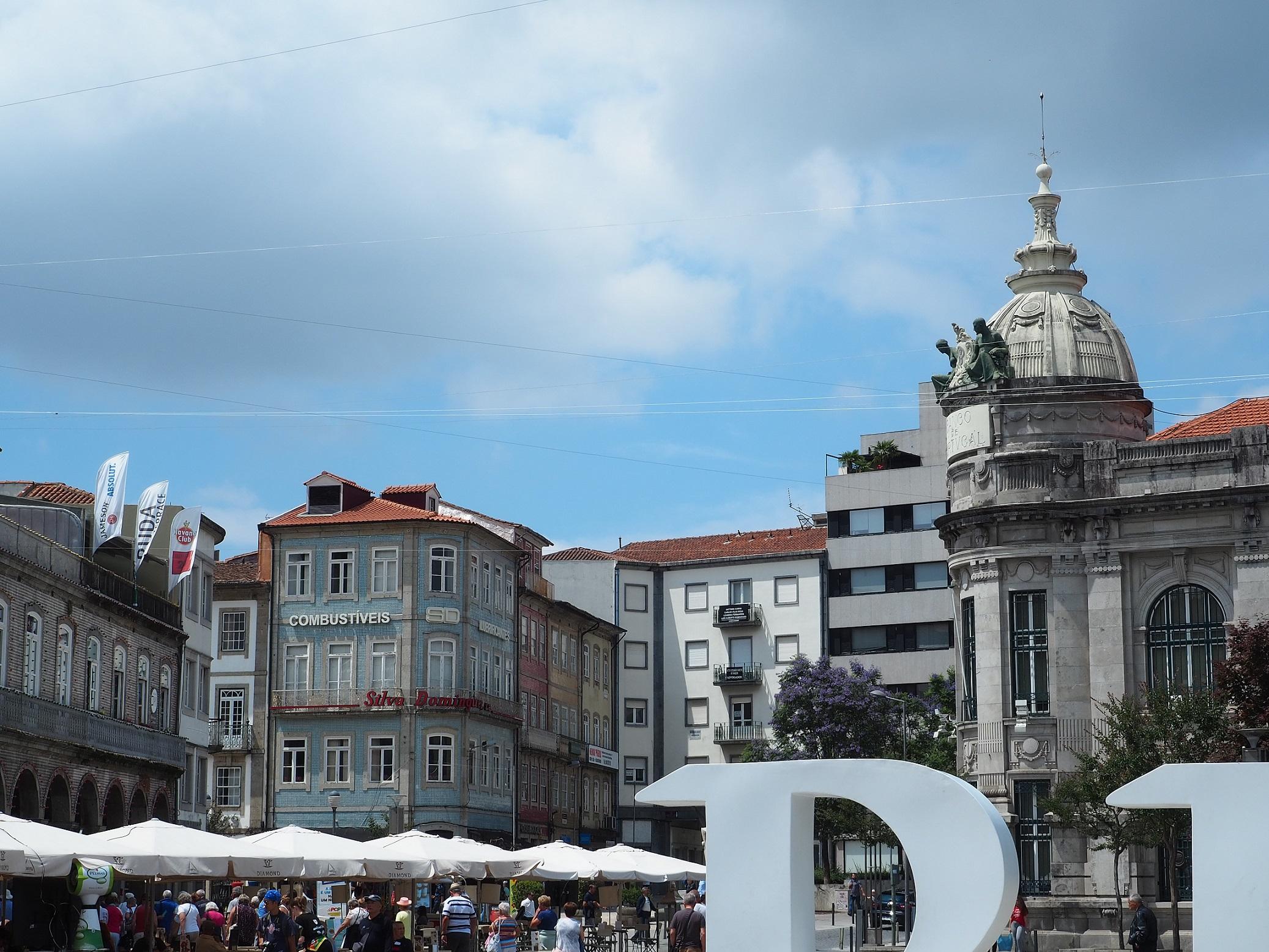 Braga au Portugal, non loin de Porto