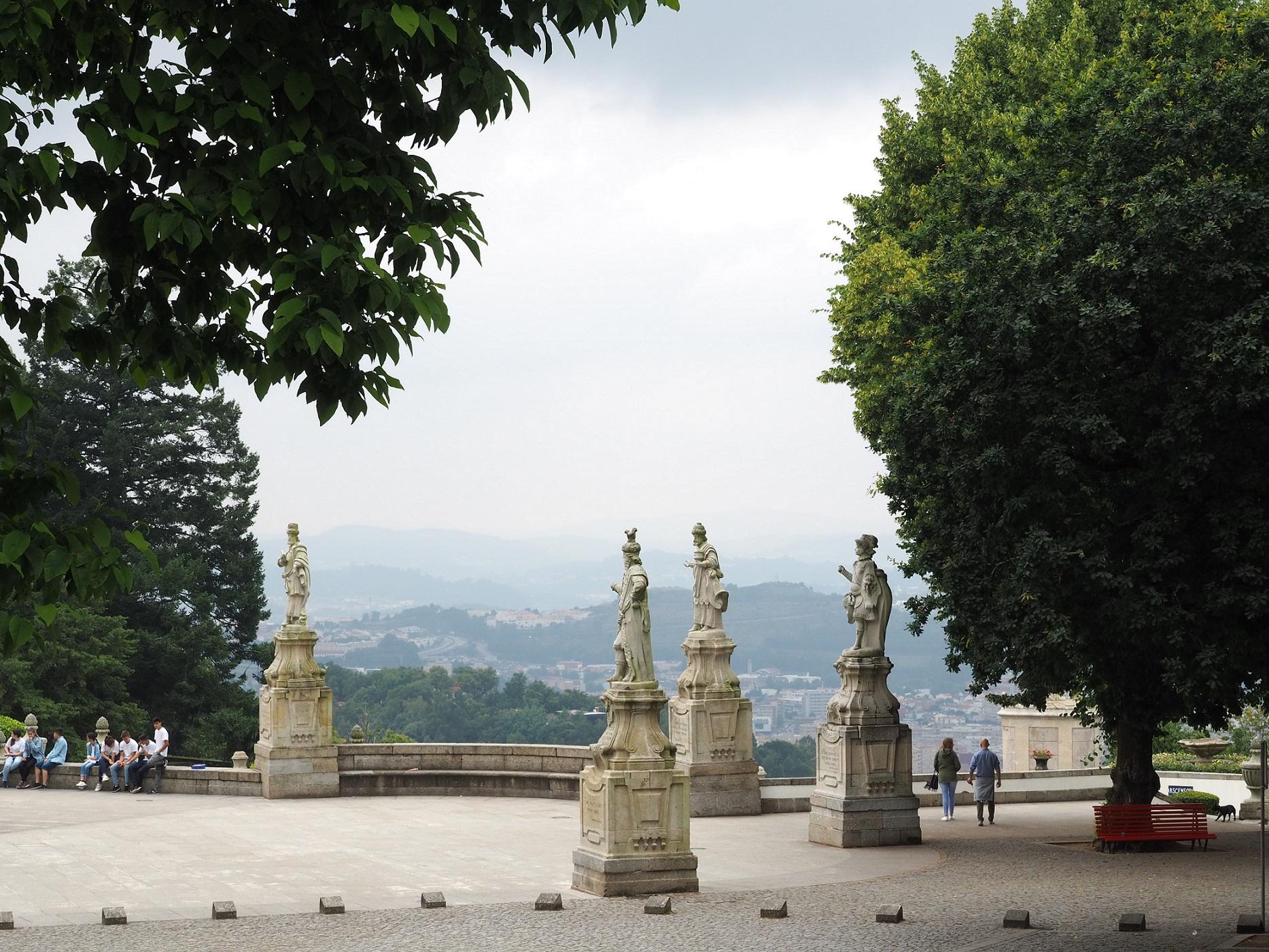 Braga : Sanctuaire Bom Jésus du Mont