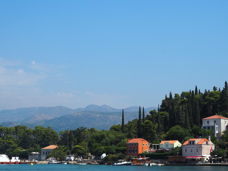 Excursion à l'île Koločep en Croatie