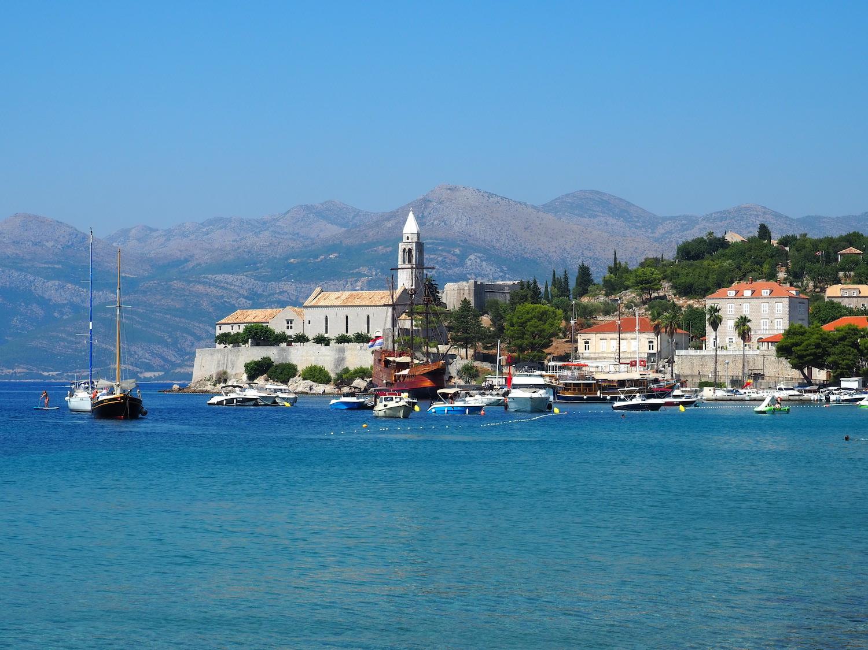 Croisière sur l'île Lopud en Croatie