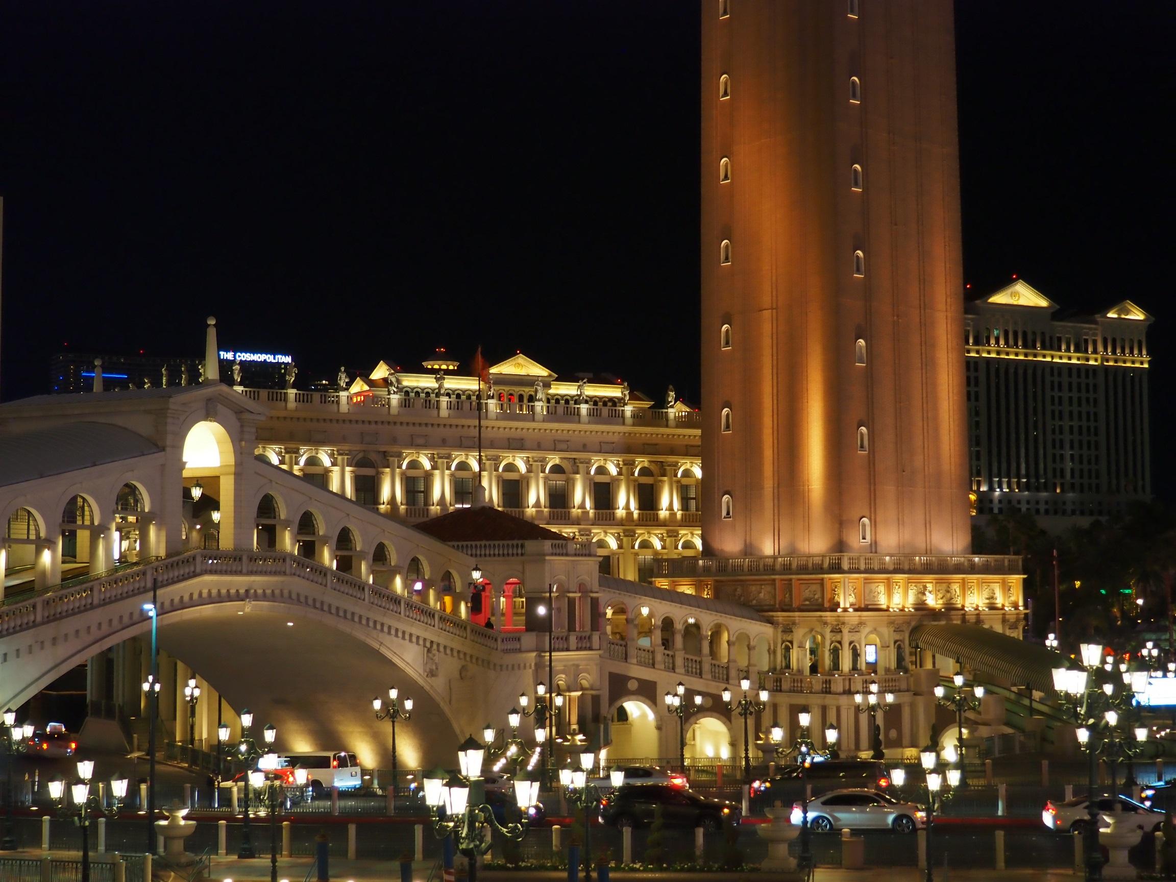 L'hôtel Venetian à Las Vegas
