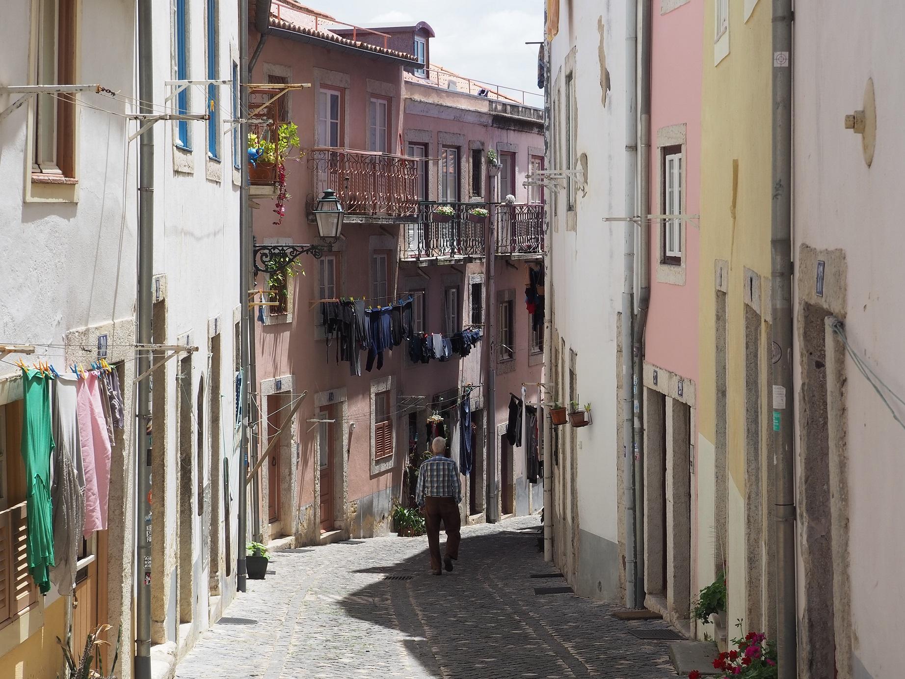 Ruelles d'Albama à Lisbonne