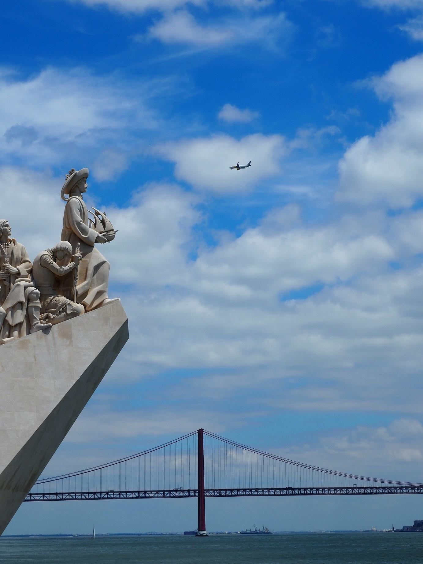Monument aux découvertes à Lisbonne