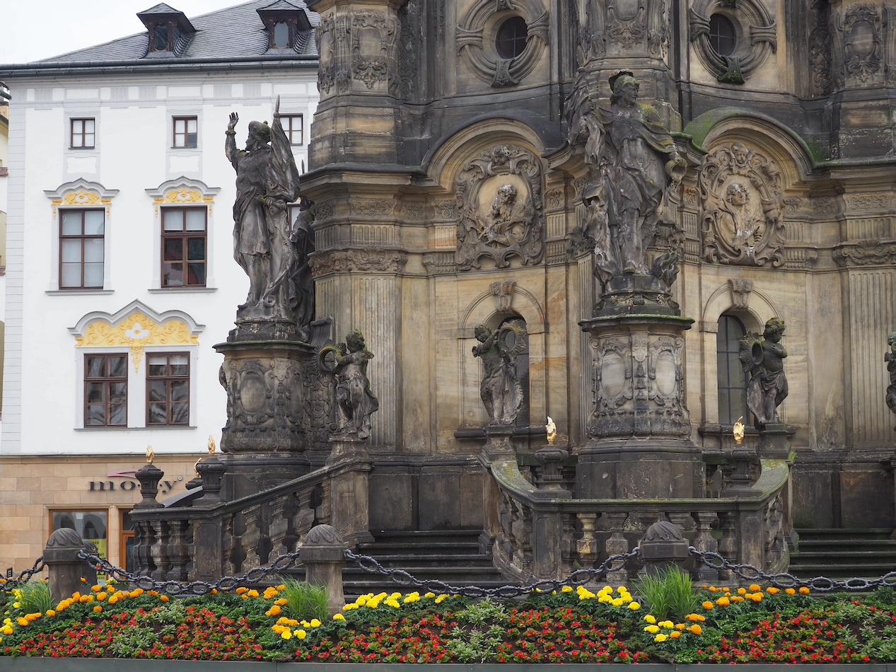 Colonne de la Sainte Trinité à Olomouc en République Tchèque