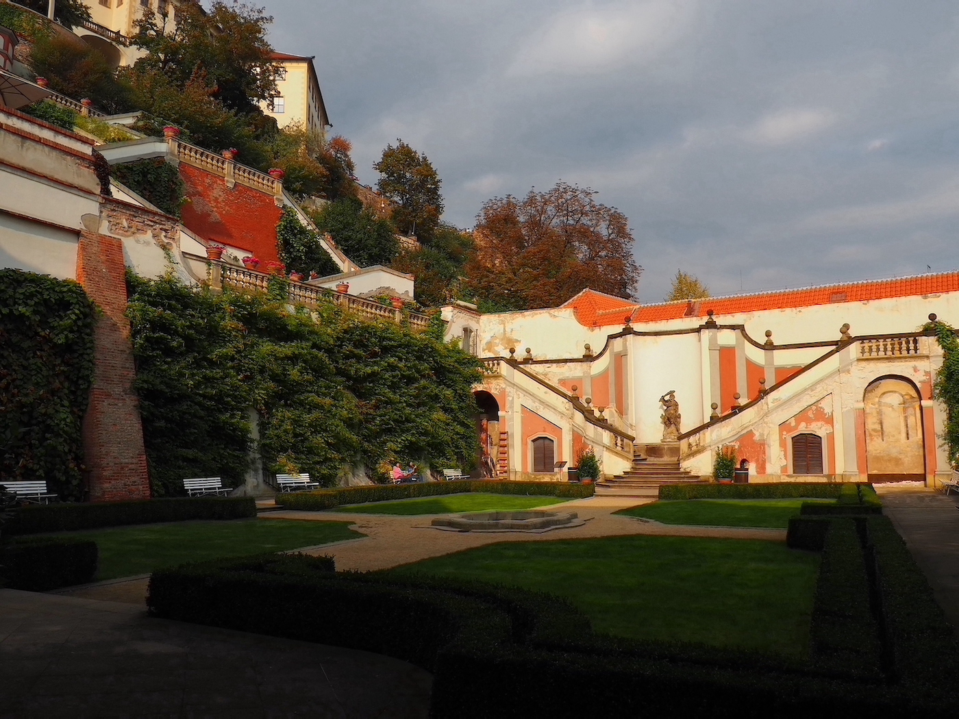 Zahrady pod Pražským hradem – Jardins sous le château de Prague