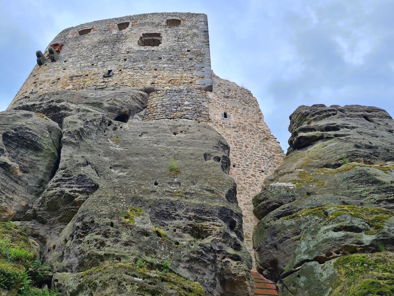 Le château Valečov en République Tchèque
