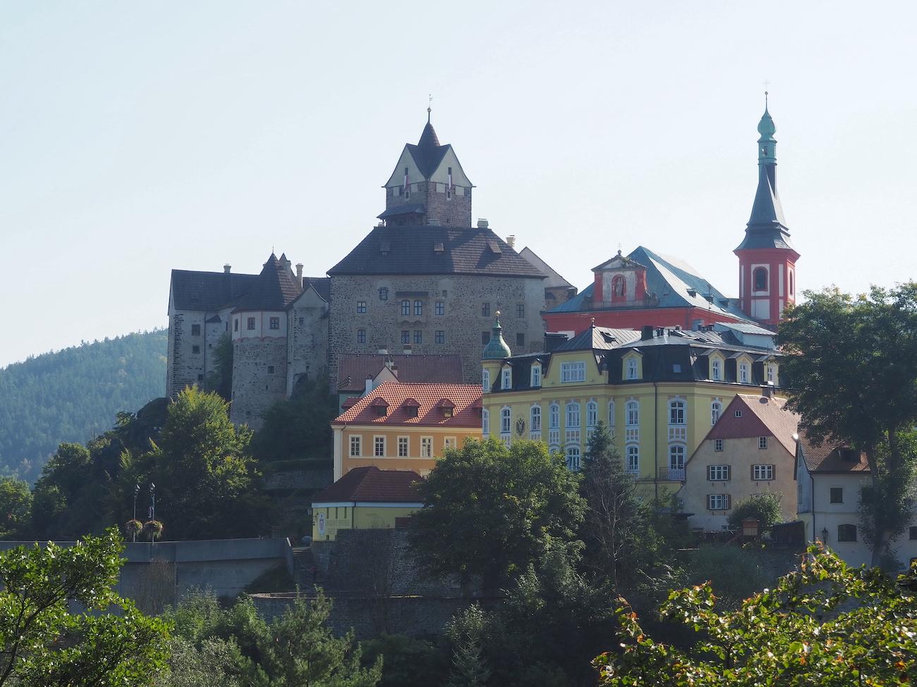Visite de Loket et son château en République tchèque