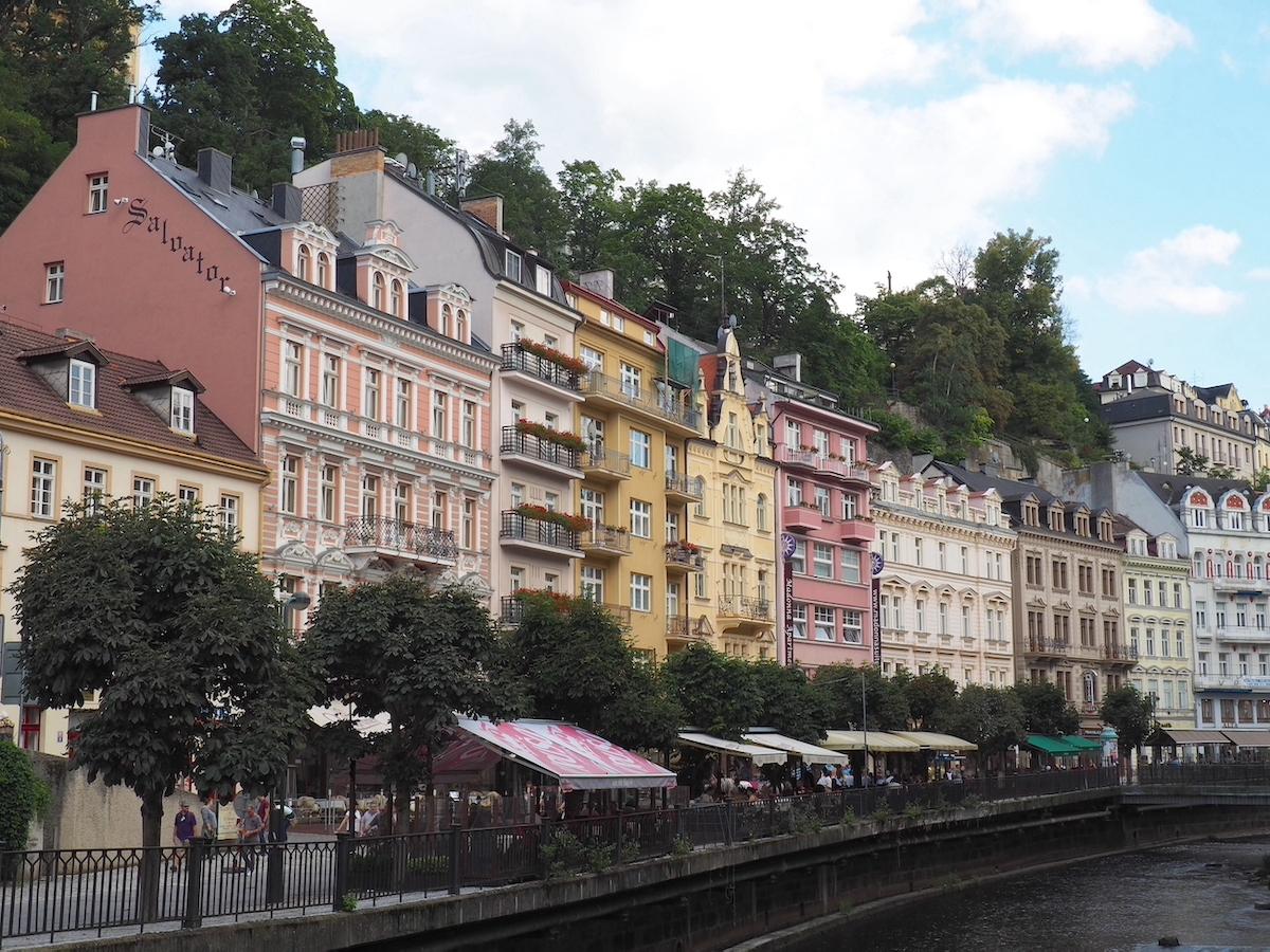 Visite de Karlovy Vary en République tchèque