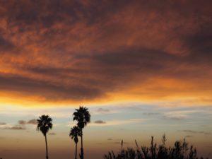 Coucher de soleil à Cardiff-by-the-sea; San Diego