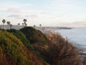 Campsite San Elijo state beach - San Diego