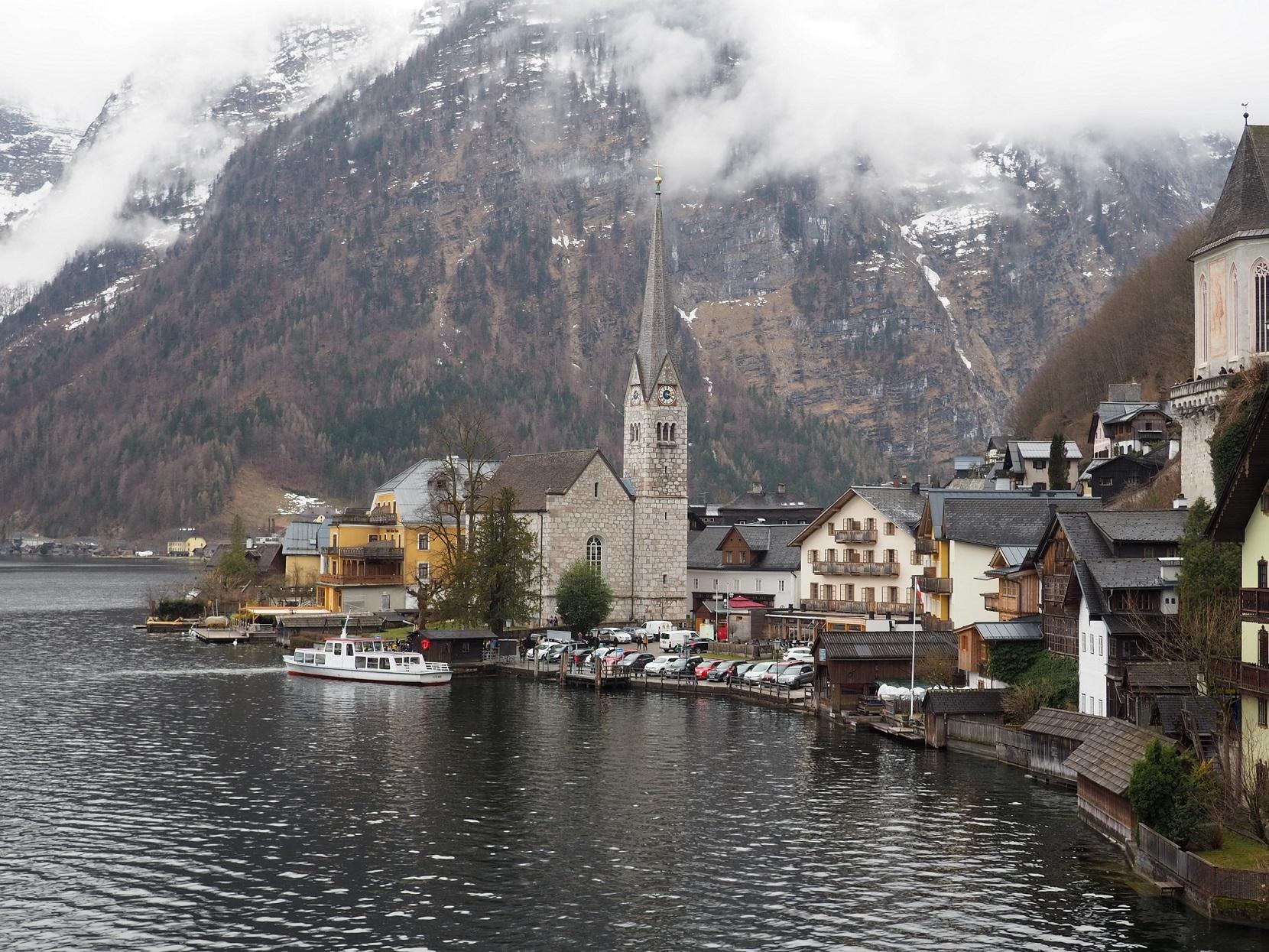 Eglise d'Hallsatt en Haute-Autriche