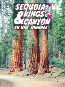 Informations pratiques et partage d'expérience pour la visite de Sequoia National Park et Kings Canyon National Park en journée.