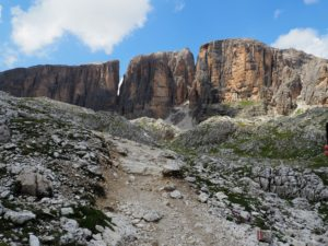 Randonnée à Corava di Badia vers le refuge Franz Kostner