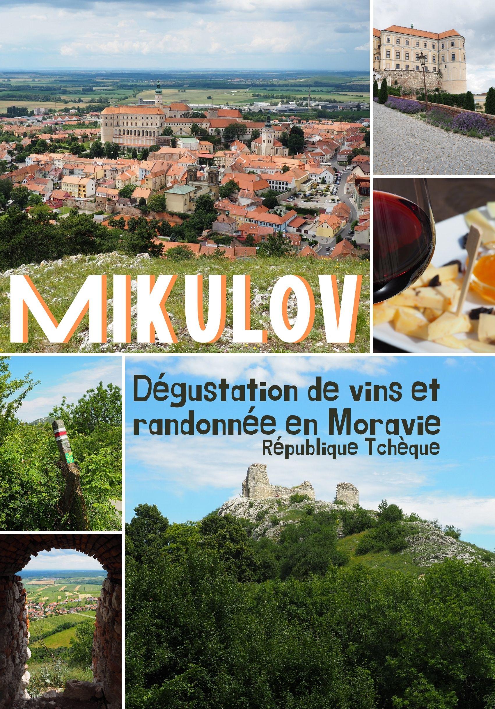 Visiter Mikulov en Moravie: informations pratiques et conseils pour visiter ce coin de République Tchèque: le château, le centre historique, les randonnées
