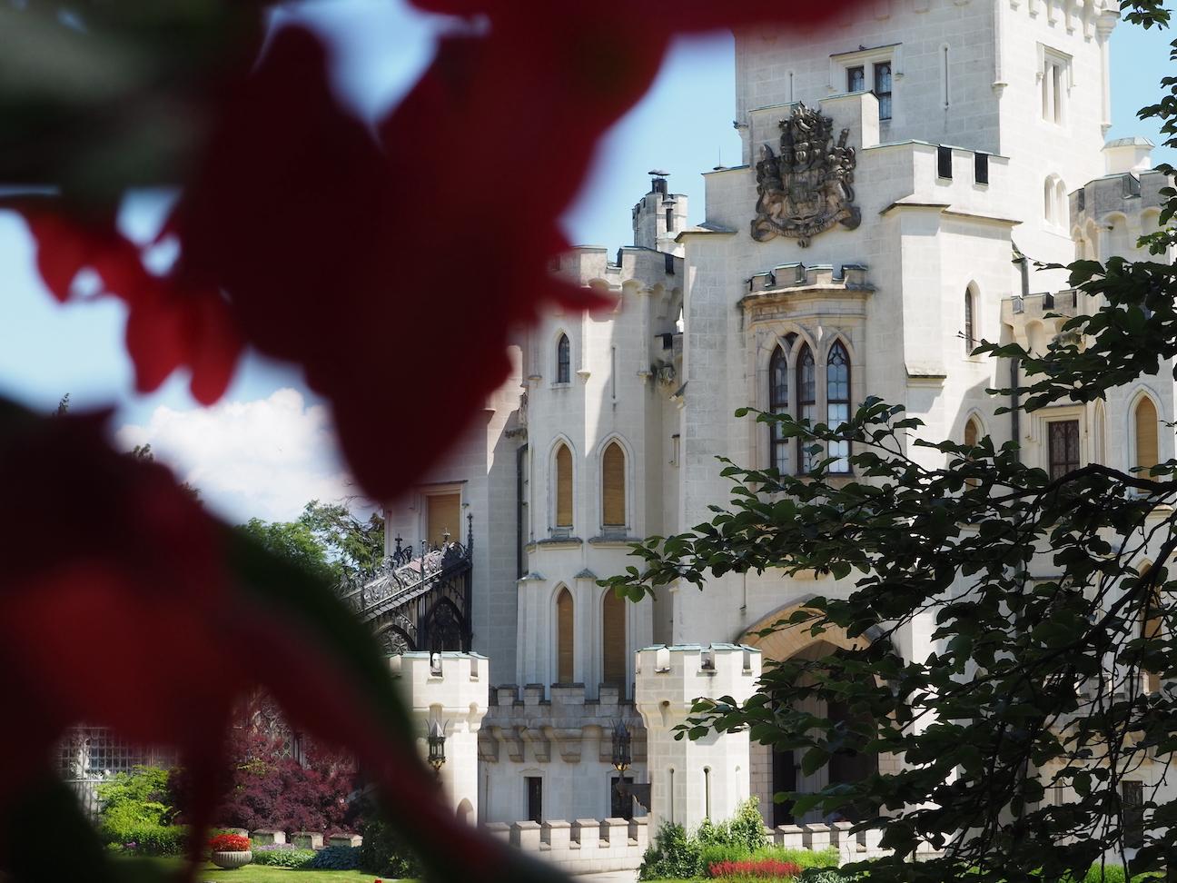 Le château Hluboká nad Vltavou en République Tchèque
