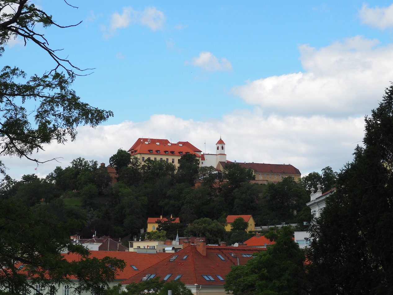 Forteresse du Spielberg à Brno lors d'un voyage en République Tchèque