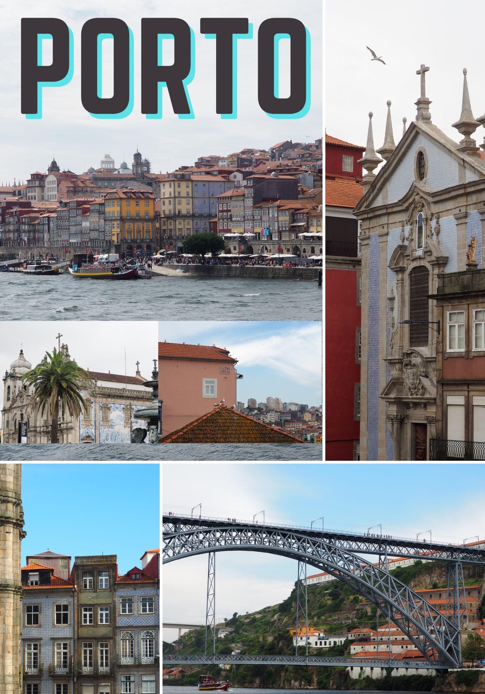 Visiter Porto au Portugal, d'une rive à l'autre du Douro: ses principales attractions touristiques et la dégustation de Porto.