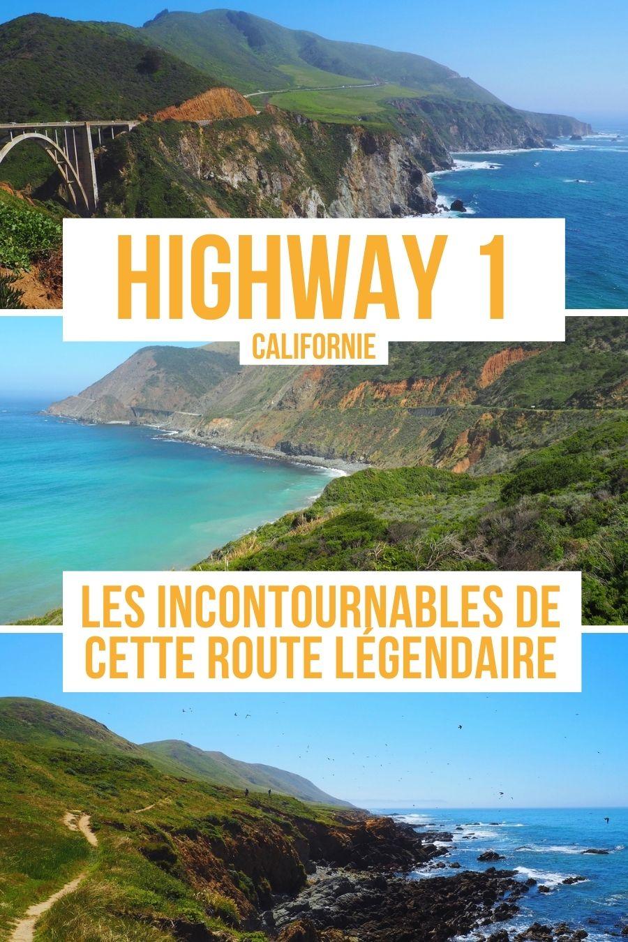 Highway 1 ou Pacific Coastway en Californie, les incontournables d'un voyage de long de cette route légendaire