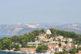 Visite de Cavtat en Croatie, non loin de Dubrovnik