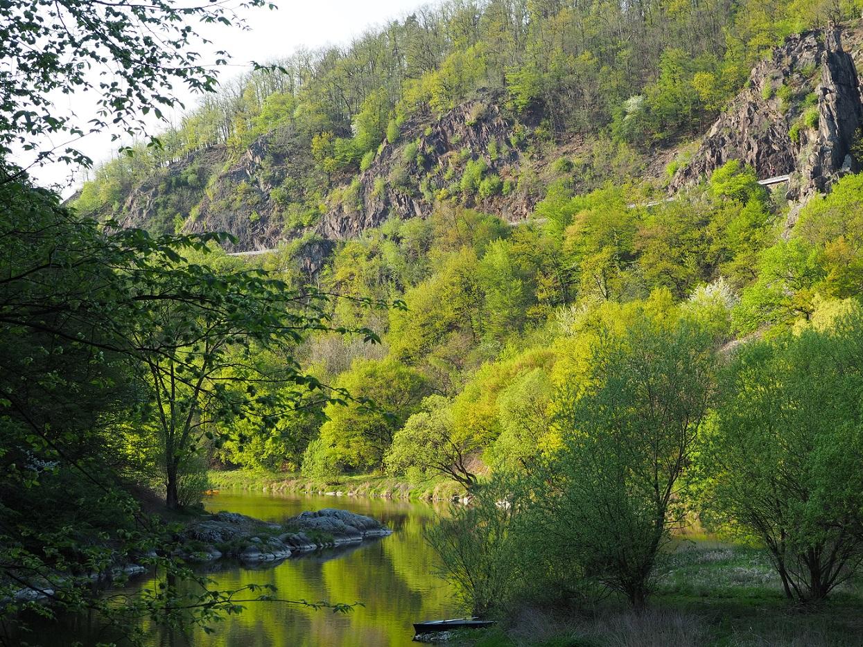 Randonnée le long de lq rivière Savaza