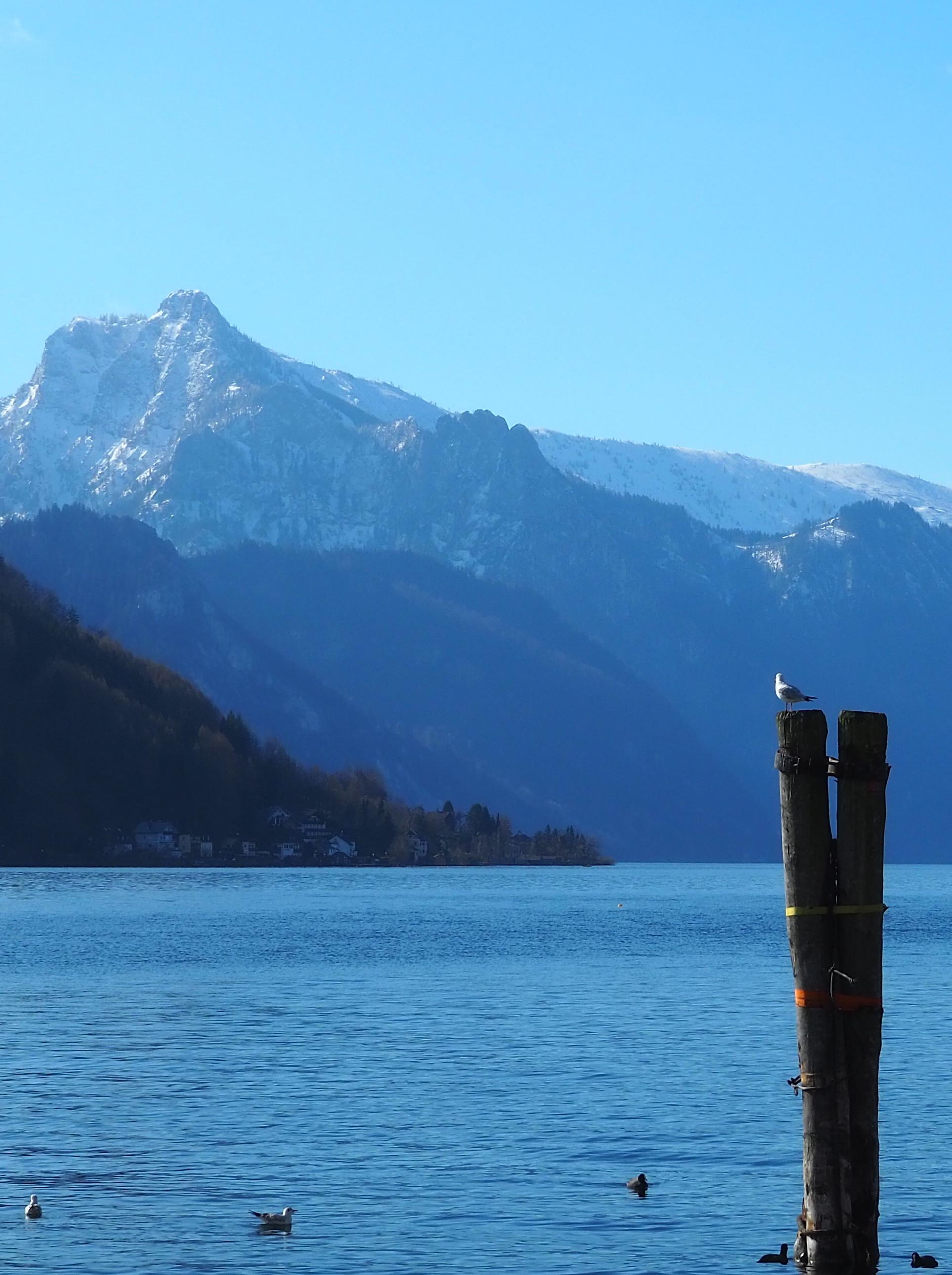 Les montagnes de Gmunden en Haute Autriche
