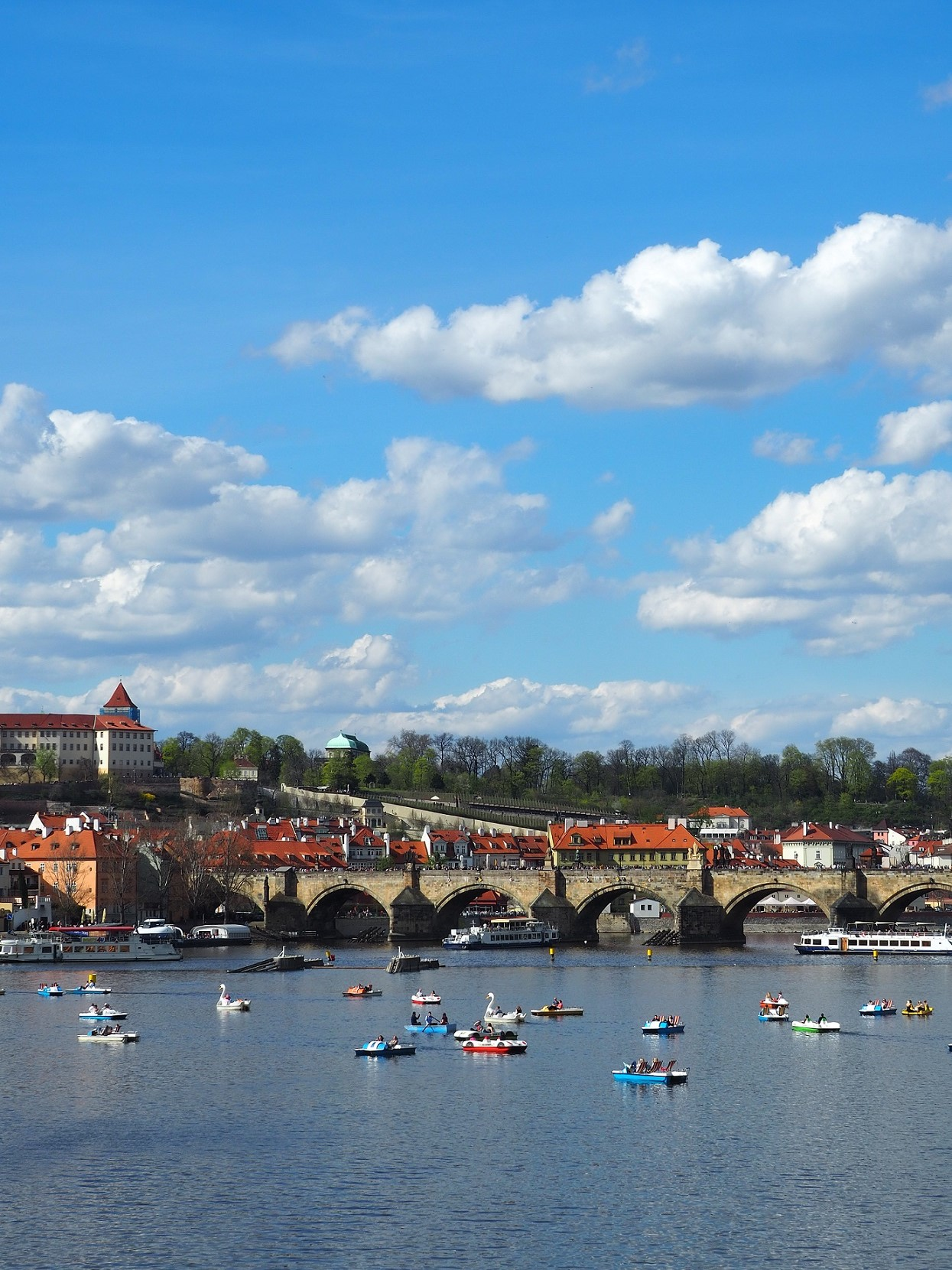Pont Charles et la Vltava