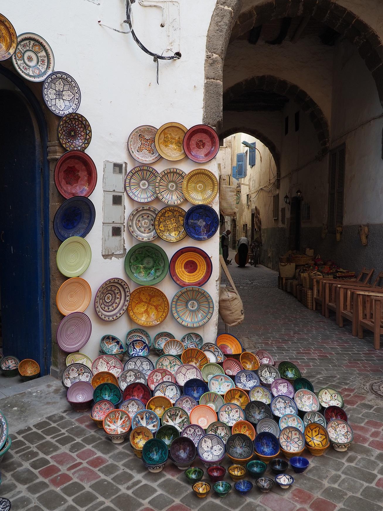 Artisanat local à Essaouira