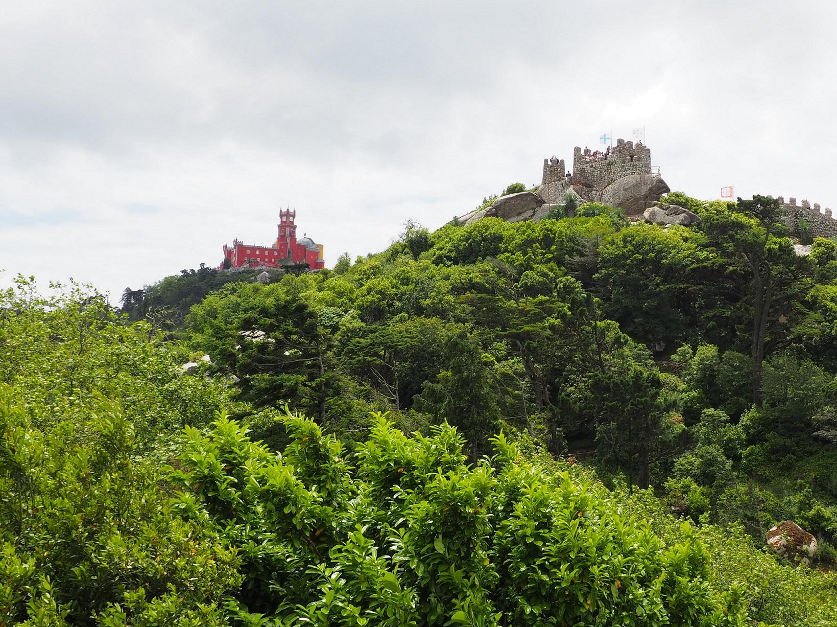 Visite de Sintra : château des Maures, Pena, Cabo da Roca et Cascais