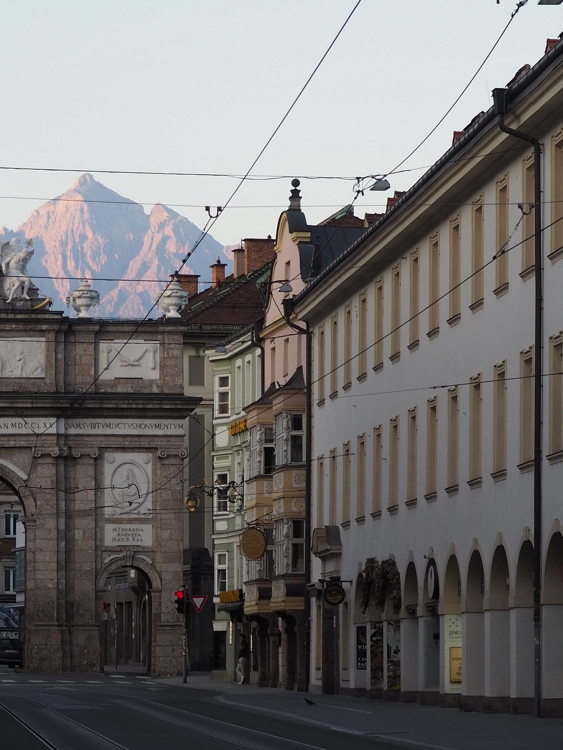 Innsbruck en Autriche