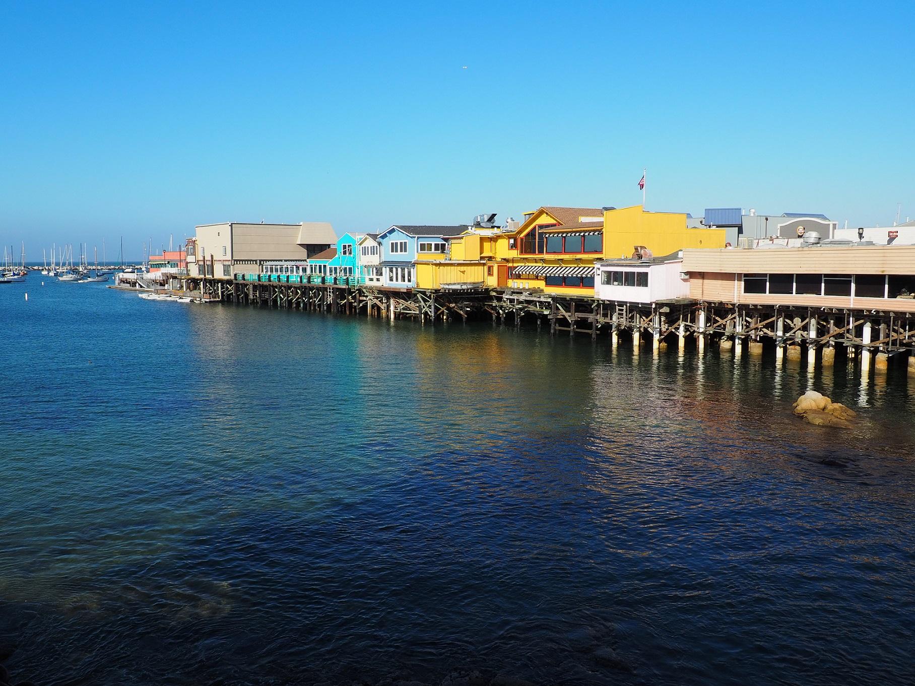 Old Fisherman's Wharf à Monterey en Californie