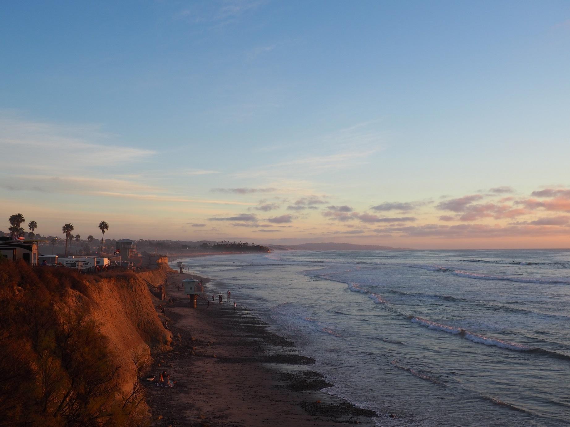 San Elijo state beach - San Diego