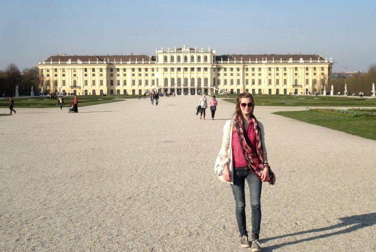Photo à vVienne pendant Erasmus